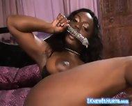 Stunning Busty Black Temptress - scene 3