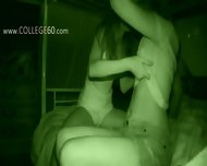 Cheerleader College Girls Sucking Big Dick - scene 4
