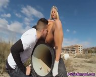 Blondie Fessers Juicy Ass And Wet Pussy Filled Up With Big Hardcock - scene 5