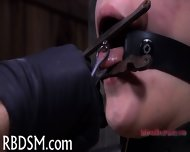 Chained Up Babe Is Punished - scene 11