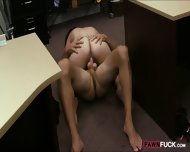 Cuban Honey Sells Her Tv And Banged Hard At The Pawnshop - scene 9