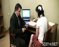 Babe Is Hungry For Teacher S Cock - scene 4