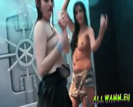 Czech Teen Girls At Hot Shower Dance Party - scene 8