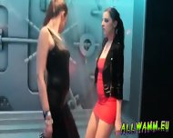 Czech Teen Girls At Hot Shower Dance Party - scene 12