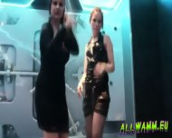 Czech Teen Girls At Hot Shower Dance Party - scene 2