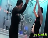 czech teen girls at hot shower dance party