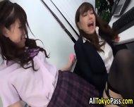 Asian Lesbian Eats Pussy - scene 1