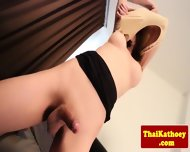 Sweet Young Ladyboy Fingers Her Ass - scene 6