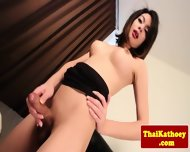Sweet Young Ladyboy Fingers Her Ass - scene 7