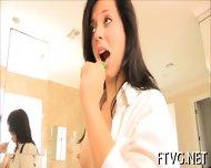 Cucumber In Her Vagina - scene 3