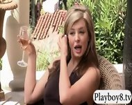 Sexy Babes Have Fun With Nasty Guys In Foursome Mansion - scene 4