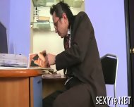 Teacher Is Fucking Young Babe - scene 5