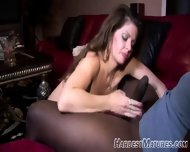 A Young Ebony Boy And Mature Slutty - scene 2