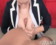 Divine Cowgirl Riding - scene 4