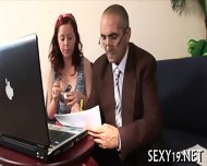 Horny Teacher Devouring Lass - scene 5