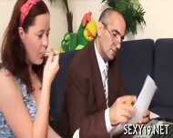 Horny Teacher Devouring Lass - scene 6