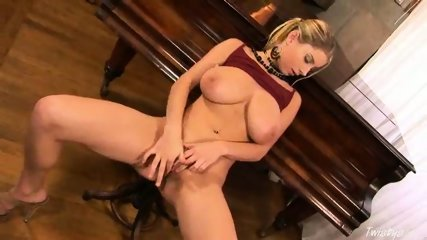 Piano Girl Snow masturbating 3 - scene 12