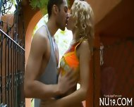 Hottie Takes Off Clothes - scene 1