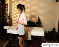 Naughty Babe Got A Massaged And Screwed By Her Masseur - scene 2