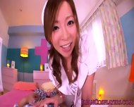 Cosplay Gyaru Nurse Gets Doggystyled - scene 3