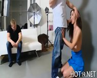 Beauty Pounded On Camera - scene 8