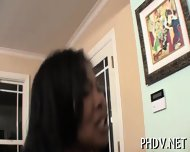 Ebony Man Bangs White Gal - scene 1
