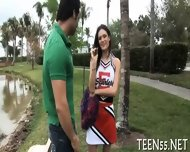 Teen Gets Her Pussy Checked Up - scene 4