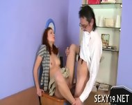 Hardcore Drilling From Teacher - scene 4
