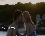 Hole Licking And Fucking By The Sea - scene 1