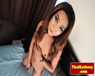 Mature Thai Glamour Tgirl Masturbates - scene 8