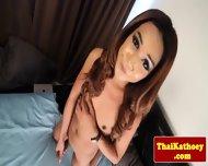 Mature Thai Glamour Tgirl Masturbates - scene 9