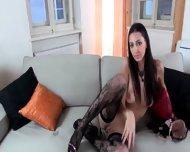 Brunett With Sexy Lingerie - scene 3