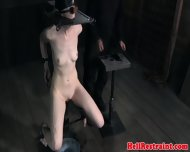 Bsdm Sub Spanked While Sensory Deprived - scene 6
