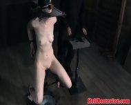 Bsdm Sub Spanked While Sensory Deprived - scene 6