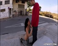 Big Booty Brunette Ava Dalush Gets Copulated In Public - scene 6