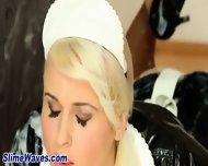 Toyed Bukkake Loving Babe - scene 3