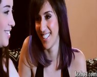 Kinky Teens Eva And April Licking Each Others Pussies - scene 1