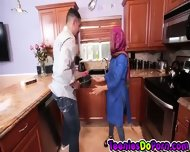 Arab Student Ada Gets Fucked - scene 1