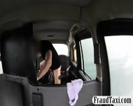 Massive Boobs Ebony Sucks And Analyzed For A Free Cab Fare - scene 9