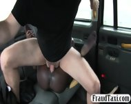 Massive Boobs Ebony Sucks And Analyzed For A Free Cab Fare - scene 10