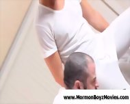 Older Gay Man Stretches And Fucks Young Ass - scene 2