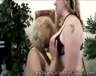 2 Horny Blonde Grandmas Get Closer Than Friends - scene 2