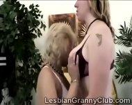 2 Horny Blonde Grandmas Get Closer Than Friends - scene 2
