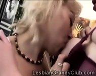 2 Horny Blonde Grandmas Get Closer Than Friends - scene 3