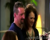 Alcohol And Hot Games Turn On Couples Of Swingers Reality Show - scene 9