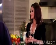 Alcohol And Hot Games Turn On Couples Of Swingers Reality Show - scene 5