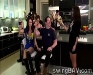 Alcohol And Hot Games Turn On Couples Of Swingers Reality Show - scene 6