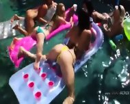 Perfect Group Bum Sex Outdoors - scene 2