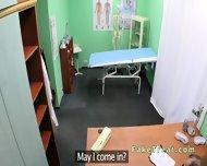 Doctor Fucks Milf Patient On A Desk - scene 1