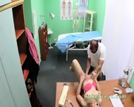 Doctor Fucks Milf Patient On A Desk - scene 10
